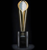 CFP Playoff Trophy
